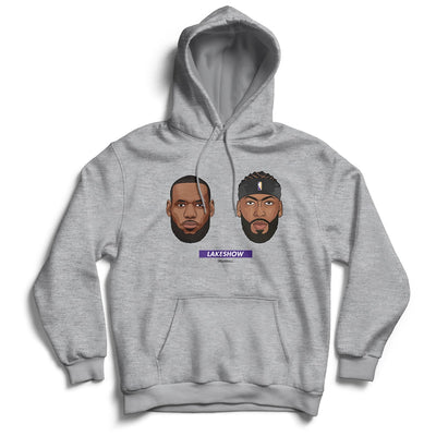 Lebron-james-Anthony-Davis-Lakeshow-Finals-Hoodie-Grey-Los-Angeles-Lakers