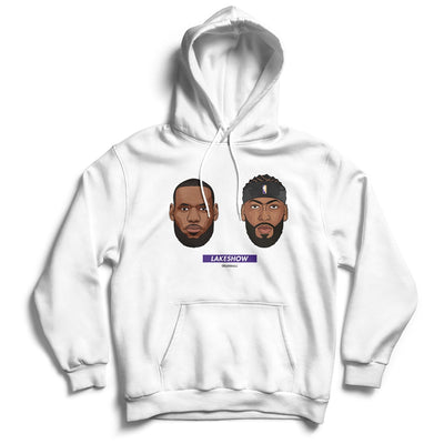 Lebron-james-Anthony-Davis-Lakeshow-Finals-Hoodie-white-Los-Angeles-Lakers