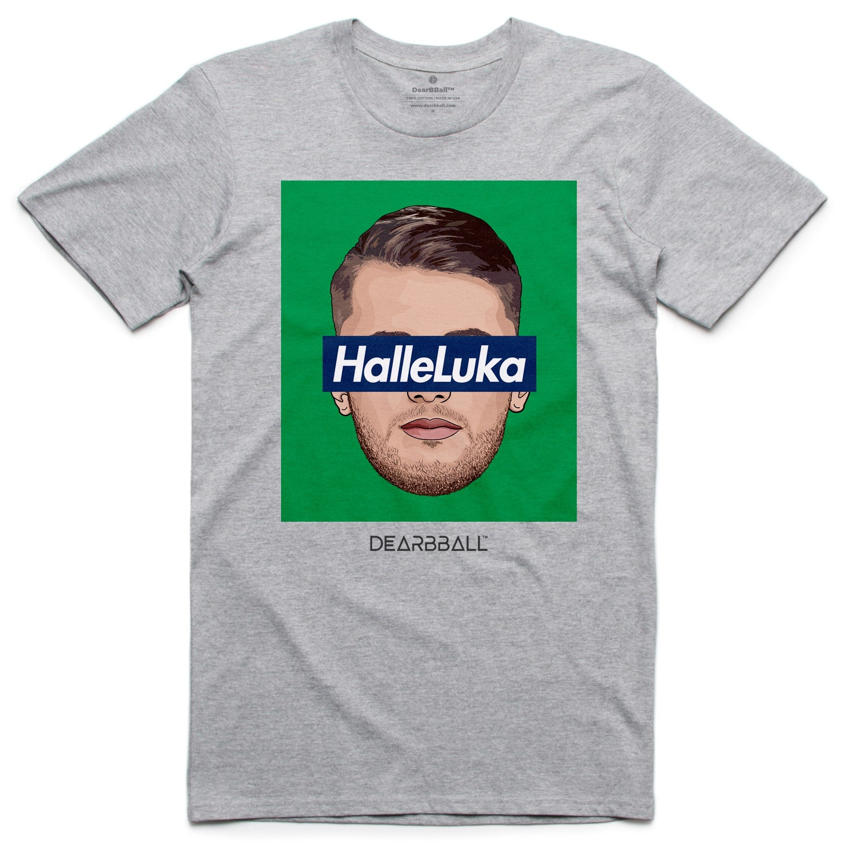 Luka_Doncic_Shirt_HalleLuka_Green_Dearbball_Grey