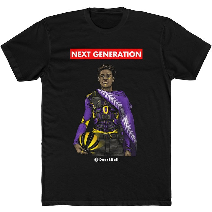 Shirt Bronny James DearBBall Los Angeles Lakers NBA Basketball white