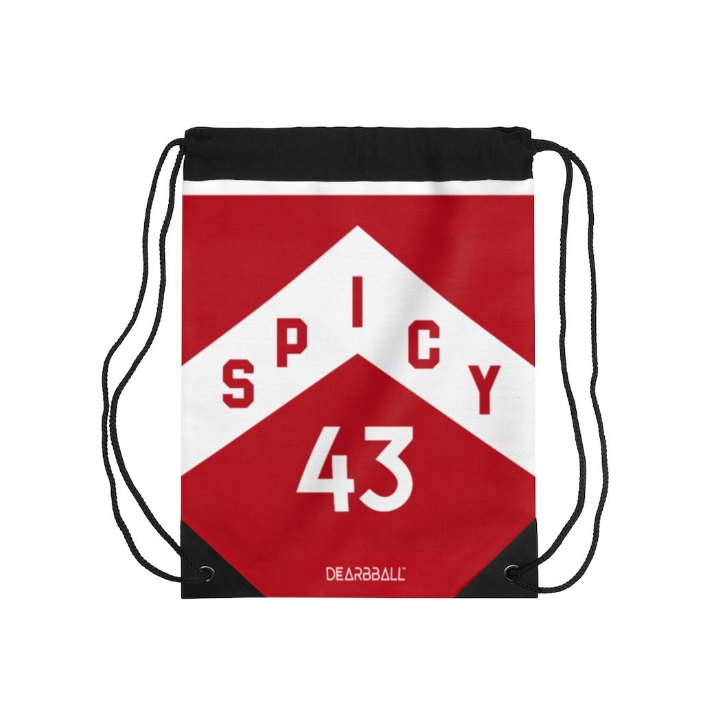 Pascal-Siakam-Drawstring-Bag-Toronto-Raptors-Basketball-Dearbball-Red
