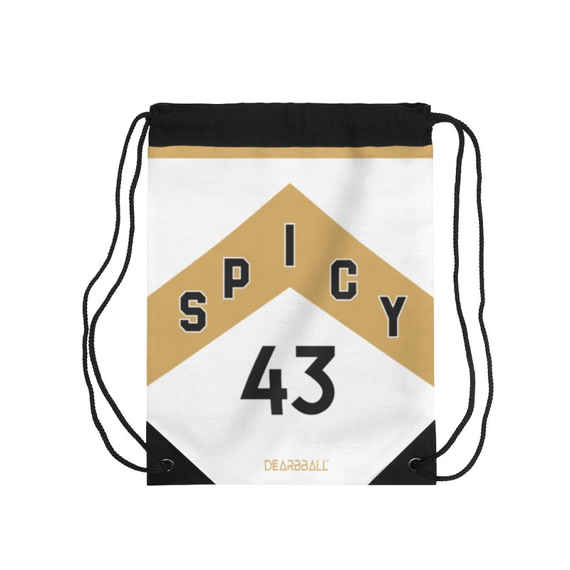 Pascal-Siakam-Drawstring-Bag-Toronto-Raptors-Basketball-Dearbball-White