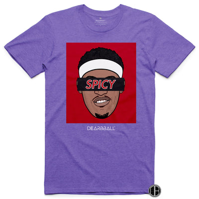 Pascal Siakam Shirt - SPICY Black Toronto Raptors Basketball Dearbball purple
