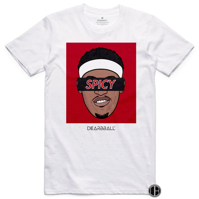 Pascal Siakam Shirt - SPICY Black Toronto Raptors Basketball Dearbball white