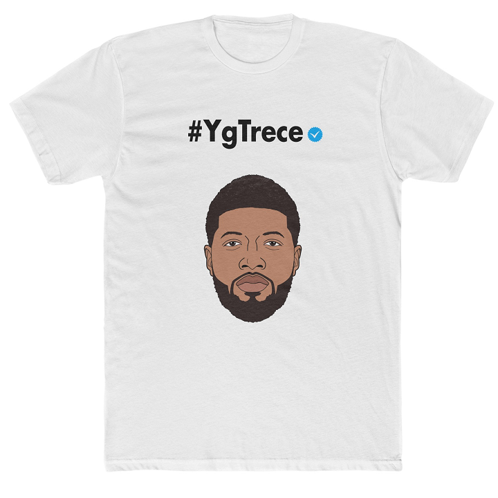 Paul George Shirt - YgTrece Instagram