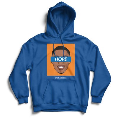 RJ_Barrett_hoodie_HOPE_Orange_New_York_Knicks_dearbball_blue