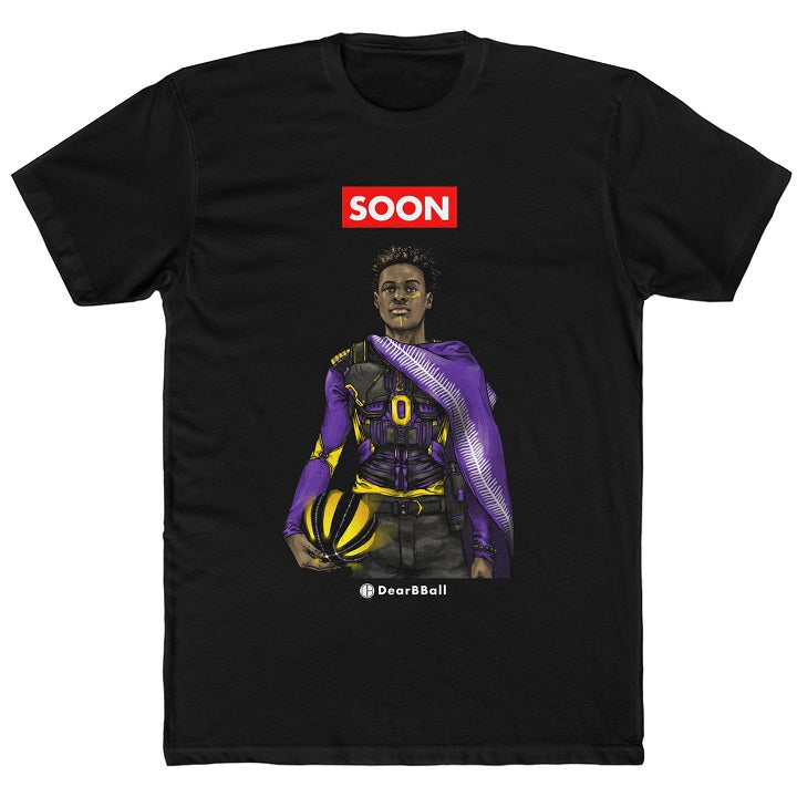Shirt Bronny James Los Angeles Lakers DearBBall NBA Basketball white
