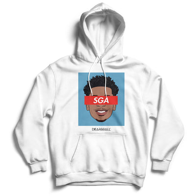 Shai_Gilgeous_Alexander_hoodie_SGA_Los_Angeles_Clippers_Dearbball_white