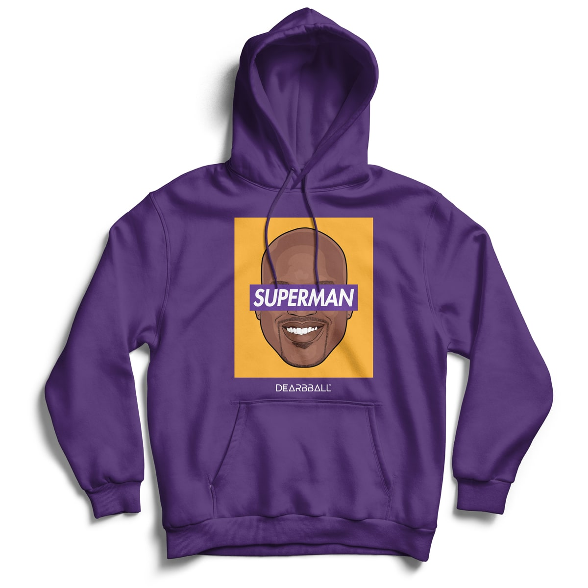 Shaquille_O_Neal_Hoodie_Superman_LA_Dearbball_Purple