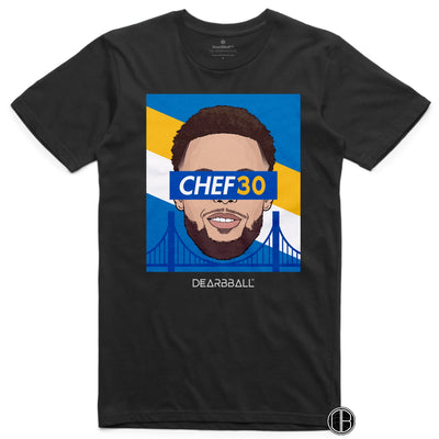 Stephen Curry T-Shirt - CHEF30 Limited T-shirt Black DEARBBALL BASKETBALL