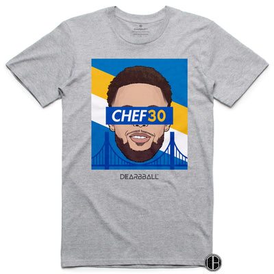 Stephen Curry T-Shirt - CHEF30 Limited T-shirt Grey DEARBBALL BASKETBALL