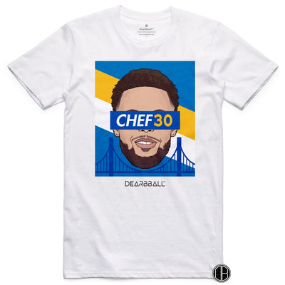 Stephen Curry T-Shirt - CHEF30 Limited T-shirt White DEARBBALL BASKETBALL