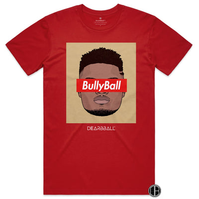 Zion Williamson T-Shirt - BullyBall Gold new orleans pelicans Basketball Dearbball red