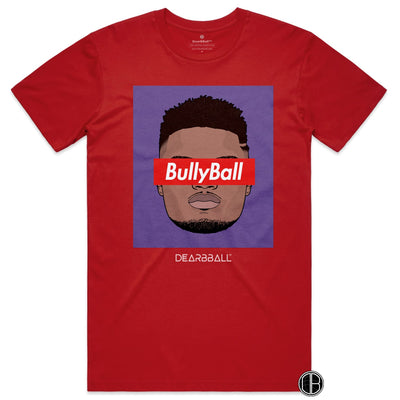 Zion Williamson T-Shirt - BullyBall new orleans pelicans Basketball Dearbball red