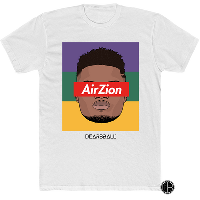 Zion Williamson T-Shirt - AirZion Tricolor Supremacy