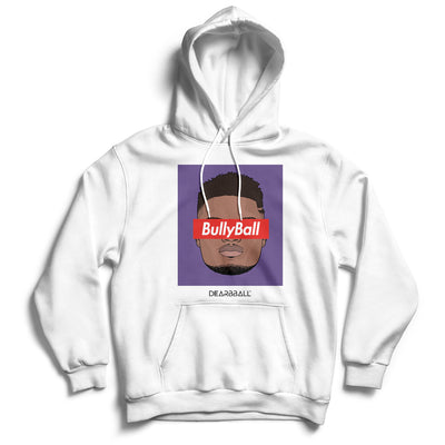 Zion_Williamson_hoodie_BULLYBALL_New_Orleans_Pelicans_Dearbball_white