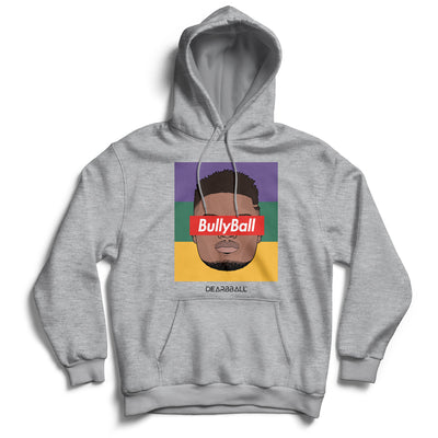 Zion_Williamson_hoodie_BULLYBALL_Tricolor_New_Orleans_Pelicans_Dearbball_grey