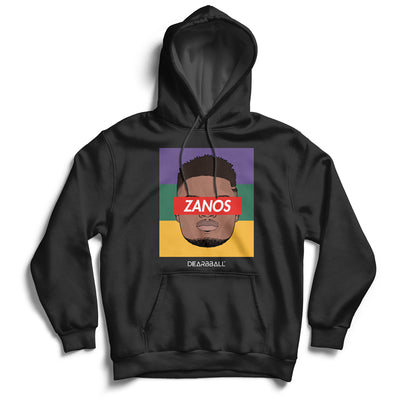 Zion_Williamson_hoodie_ZANOS_New_Orleans_Pelicans_dearbball_black