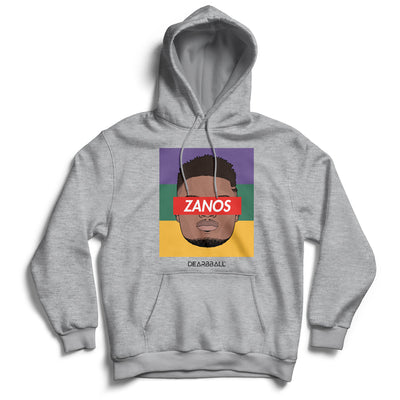 Zion_Williamson_hoodie_ZANOS_New_Orleans_Pelicans_dearbball_grey