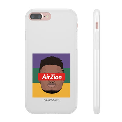 Zion Williamson Phone Cases - AirZion Tricolor Supremacy