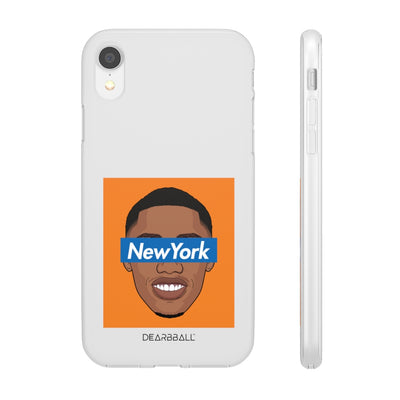 RJ Barrett Phone Cases - NEW YORK Orange Supremacy