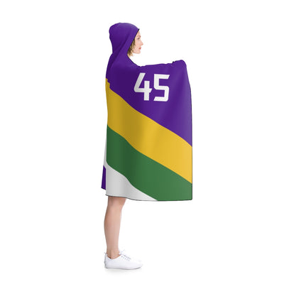 Donovan Mitchell Hooded Blanket - TakeNote 45