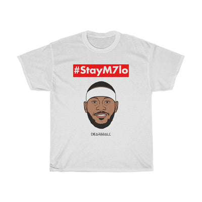 Carmelo Anthony T-Shirt - StayM7lo Hashtags