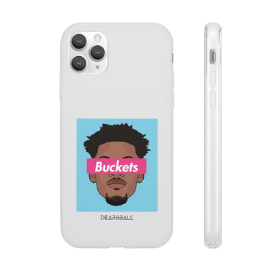 Jimmy Butler Phone Cases - Buckets Miami Vice Blue Supremacy