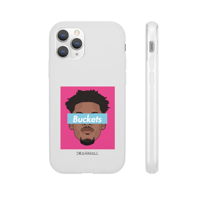 Jimmy Butler Phone Cases - Buckets Miami Vice Supremacy