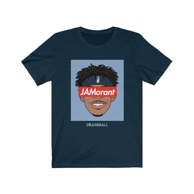 Ja Morant T-Shirt - JaMorant Blue Headband Supremacy
