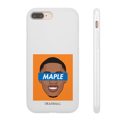 RJ Barrett Phone Cases - MAPLE Orange Supremacy