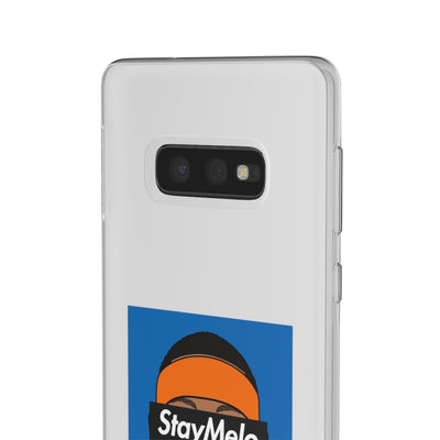 Carmelo Anthony Phone Cases - Stay Melo NYK Blue Supremacy