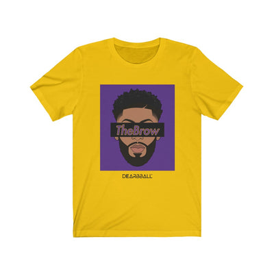 Anthony Davis T-Shirt - The Brow Black Purple Supremacy