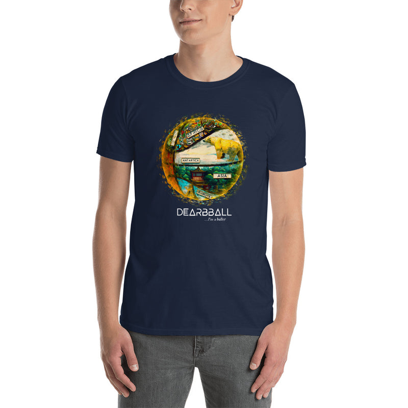 Continents Navy Shirt - BallerWorld™