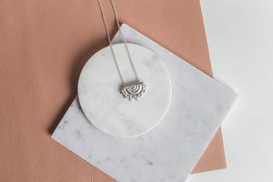 Sunflare Pendant Necklace