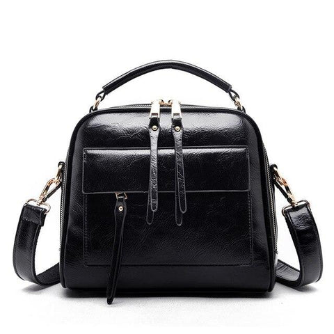Genuine Leather Crossbody Handbags
