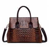 Genuine Leather Ladies Shoulder Handbags
