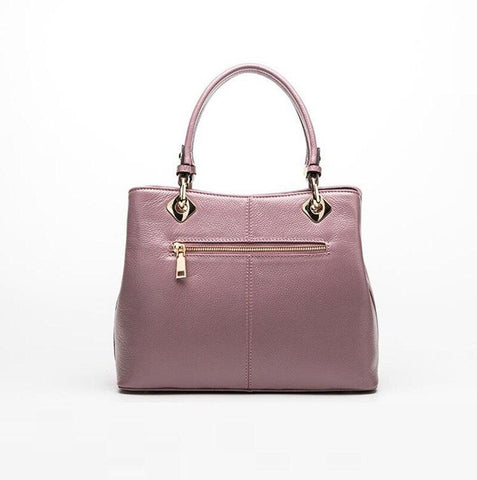 Genuine Leather Top-Handle Handbags