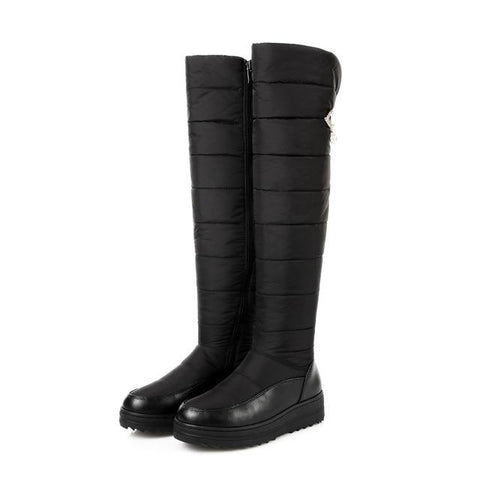 High Quality Over The Knee Winter Boots