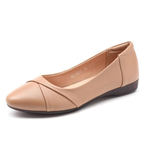 High Quality Soft Leather Flats