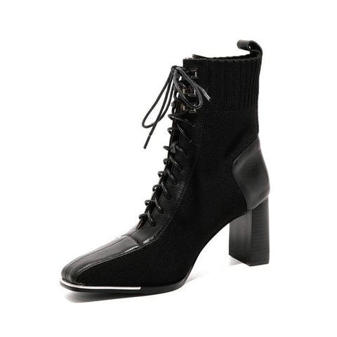 Lace-up Classic Boots