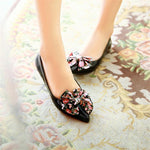 Ladies  Butterfly Bow Flats