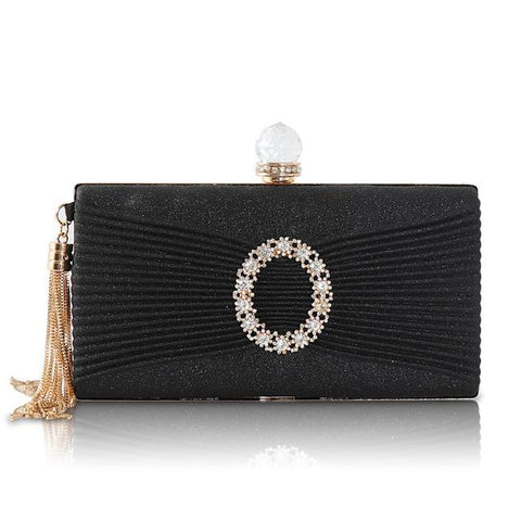 Ladies Tassel Party Clutch