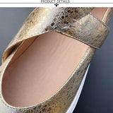 Pointed Toe Buckle Flats
