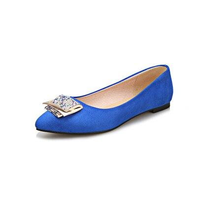 Pointed Toe Party Flats