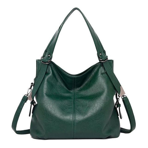 Genuine Leather Large Shoulder Totes