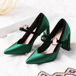 Elegant Butterfly Knot Party Heels