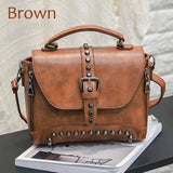 Women Messenger Bags Vintage Leather Bags