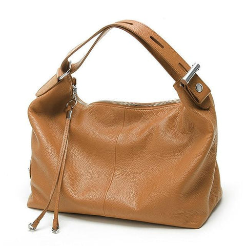 Genuine Leather Classic Shoulder Handbags