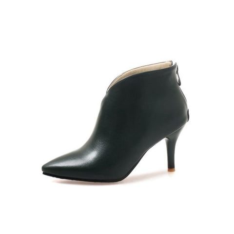 Autumn Winter V Cut Women Boots